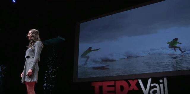 WILL.COURAGE.SURVIVE. | Peyton Palermo | TEDxVail