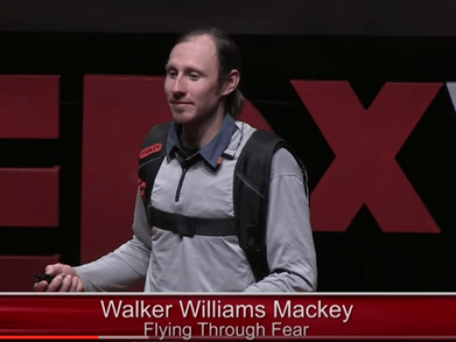 Flying Through Fear, Do you face your fears? | Walker Williams Macky | TEDxVail